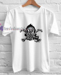 Toxic Skull t shirt