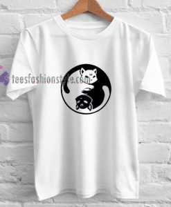 Yinyang Sailormoon Cat t shirt