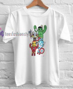 The Avangers t shirt