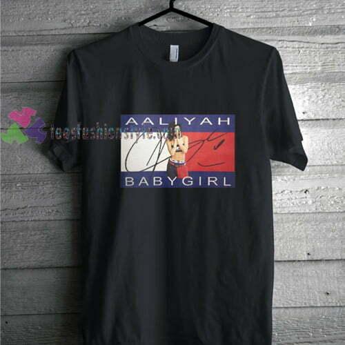 Aaliyah Babygirl black t shirt