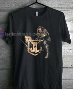 Aquaman Justice League team t shirt