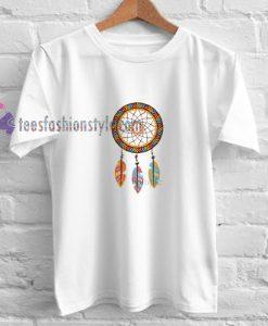 Dreamcatcher colour t shirt
