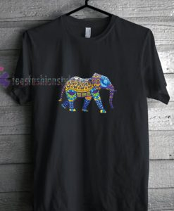 Elephant Tribal t shirt