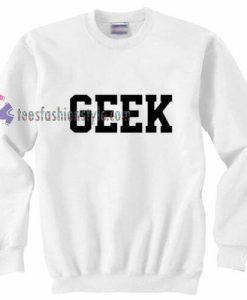 GEEK Simple Sweatshirt