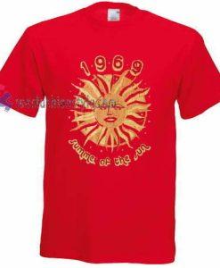 Summer of the Sun t shirt