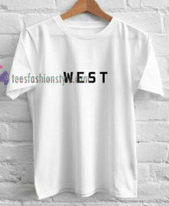 WEST Simple t shirt