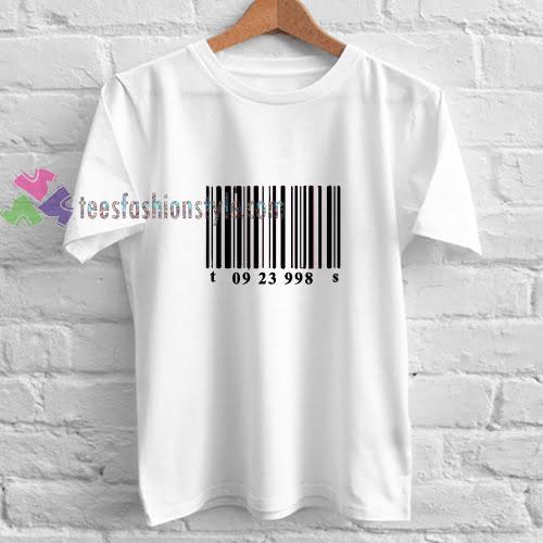 barecode tees shirt