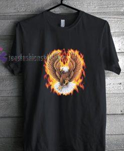 eagle flying shirt