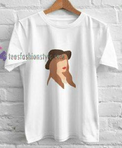 taylor swift silouet t shirt