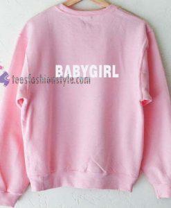 Baby Girl Pink Sweatshirt