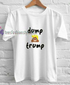 DUMP TRUMP t shirt