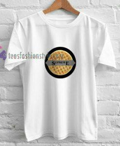 SUPREME X WAFFLE t shirt