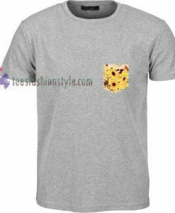 Sun Flower Pocket t shirt