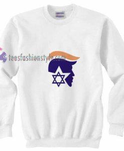 Trump X Israel Sweatshirt