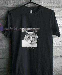 cat stranger t shirt