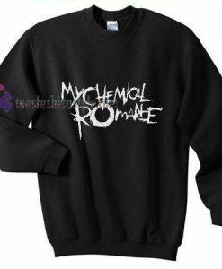 chemical romance font Sweatshirt