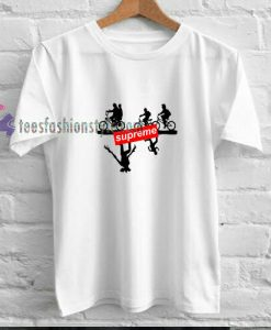 supreme inspire the upside t shirt