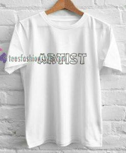 Artist Simple t shirt