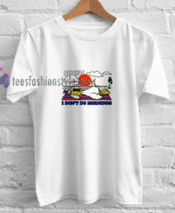 Bahamas Morning t shirt