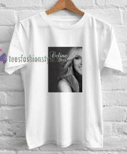 Celine Dion Side t shirt