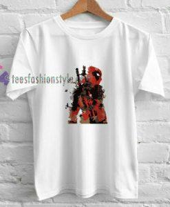 Deadpool Abatrack t shirt