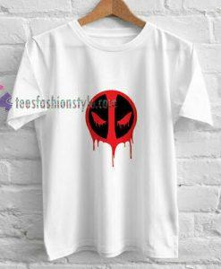 Deadpool Logo White t shirt