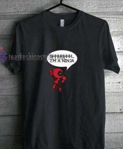 Deadpool Ninja t shirt