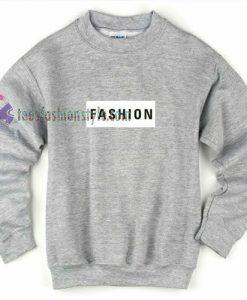 Fashion Grey Sweatshirt