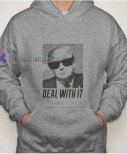 Trump Deal With It hoodie