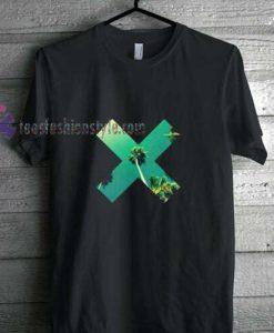 X Palm t shirt