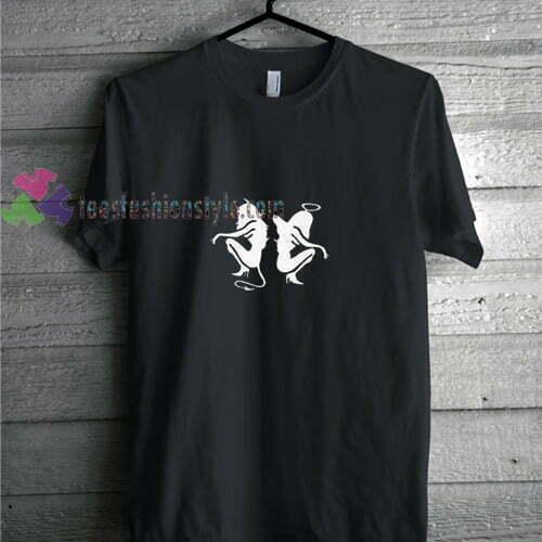 Angel and Devil t shirt