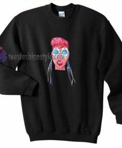 Ethnic Girl Sweatshirt