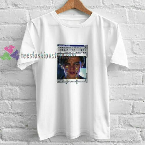 Leonardo Crying t shirt