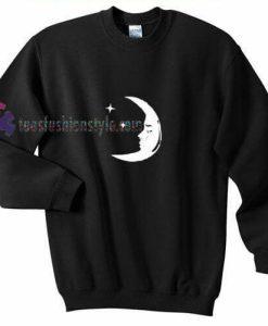 Star Moon Sweatshirt