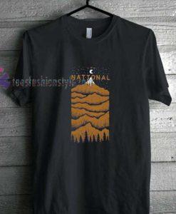 The National Peak t shirt