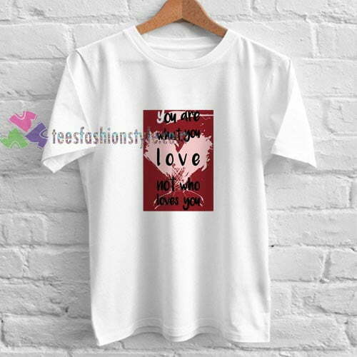 Who Love You t shirt