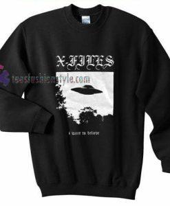 X Flies Sweatshirt