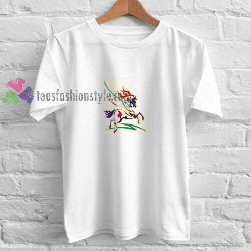 Abstrack Horse t shirt