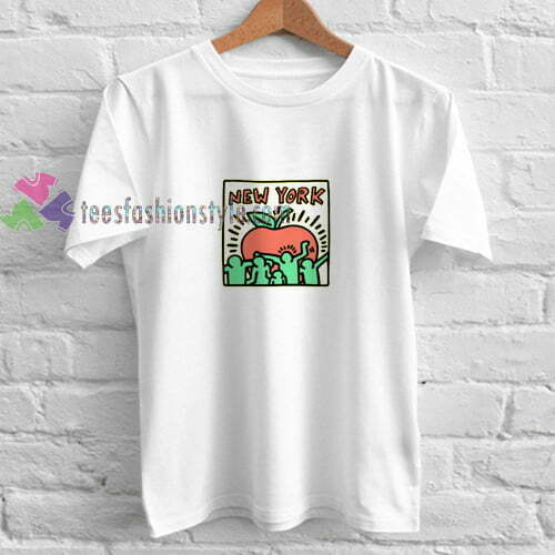 Apple New York t shirt