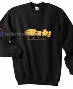 Baby Girl Fire Sweatshirt