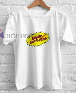 Beavis Butthead Font t shirt
