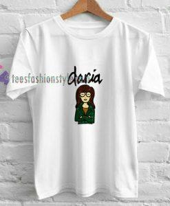 Daria Cartoon t shirt