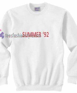 Summer 92 Sweatshirt