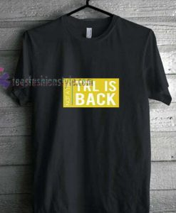 TRL is Back t shirt