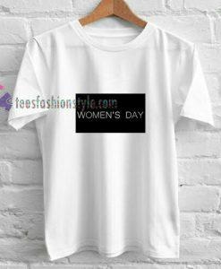 Women day t shirt
