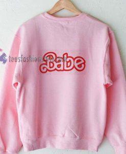 Babe Pink Sweatshirt