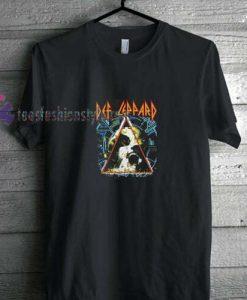 Def Leppard Logo t shirt