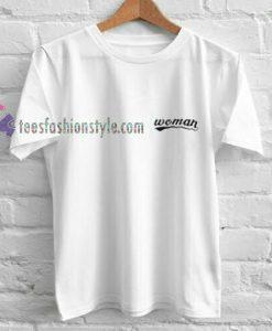 woman logo t shirt