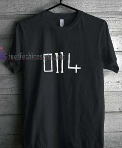 0114 Arctic Monkeys t shirt