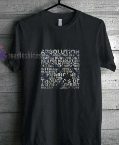 Absolution Black t shirt